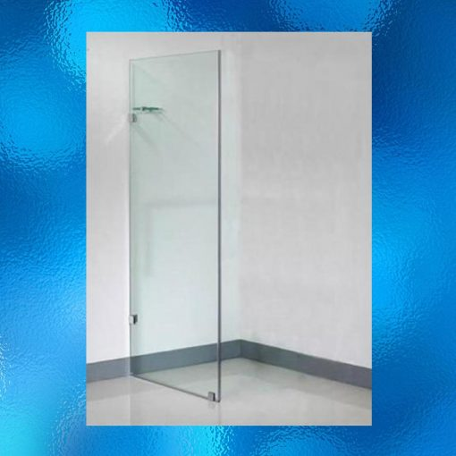 Frameless Single Shower Screen Panel - Model: SHJ-J2005A. Size: 440mm X 1900mm. Single Panel. 10mm Toughened Safety Glass, Chrome Finished Stainless Steel Hinges, Compliant To Australian Standard AS/NZS 2208. Suitable For Either Left Or Right Side. Flat Packed Ready For Assembly. IRP: $381.00 - 2 Boxes