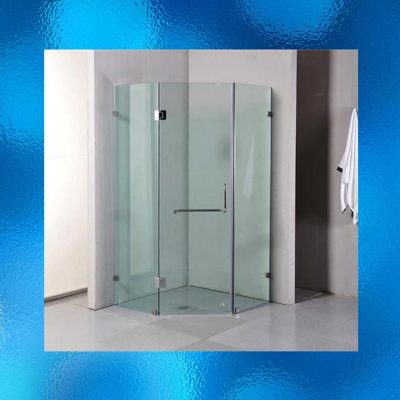 Frameless Shower Screens - Model: SHJ-J2001. Size: 1000mm x 1000mm x 1900mm. Diamond Shape. 10mm Toughened Safety Glass, Chrome Finished Stainless Steel Hinges And Handles. Compliant To Australian Standard AS/NZS2208. 1st Glass Size: 535mm x 1900mm, 2nd Glass (Door) Size: 618mm x 1885mm, 3rd Glass Size: 535mm x 1900mm. Flat Packed Ready For Assembly. Package Weight: 81kg. IRP: $812.00 - 3 Boxes
