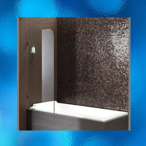 Overbath Frameless Shower Screen - Model: SHJ-J2006. Size: 700mm X 1450mm, Single Panel, 10mm Toughened Safety Glass, Chrome Finished Stainless Steel Hinges. Compliant To Australian Standard AS/NZS2208. Suitable For Either Left Or Right Side. Flat Packed Ready For Assembly. Package Weight: 35kg. IRP: $490.00 - 2 Boxes