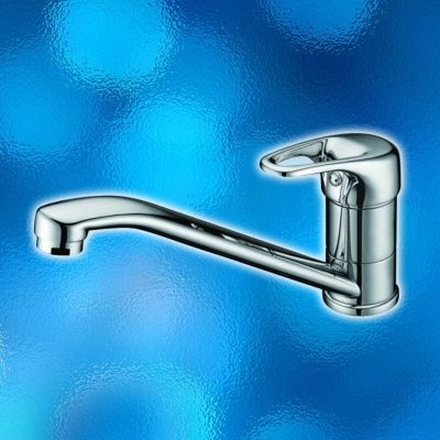 Kitchen Mixer Tap - WELS Rated, Water Mark, Model: 505.20.02, Solid Brass Construction, Chrome Finish. Brand New In Carton. IRP: $115.00