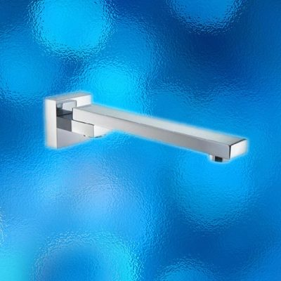 Swivel Bath Spout - Square, Model: 700.04.06, Solid Brass Construction, Chrome Finish, Brand New In Carton. IRP: $219.00