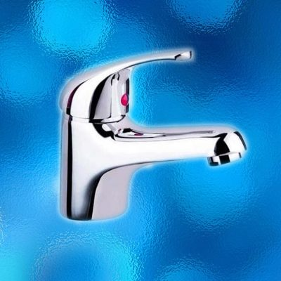 Basin Mixer Tap - WELS Rated, Water Mark, Model: 503.10.01. Solid Brass Construction, Chrome Finish. Brand New In Carton. IRP: $115.00