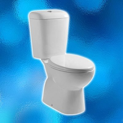 Toilet Suite – Model: AN5809. WELS 4 Star Rating & Water Mark. Soft Close Seat, S Trap.